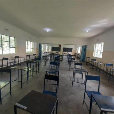 (Doppel-) Klassenraum nach Renovierung (2019)