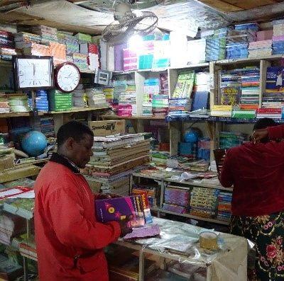 Büchergeschäft in Arusha (2019)